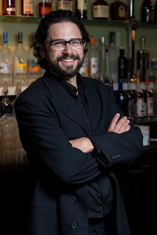 Frankie Thaheld, Director of Culinary Mixology for Snake Oil Cocktail Co.