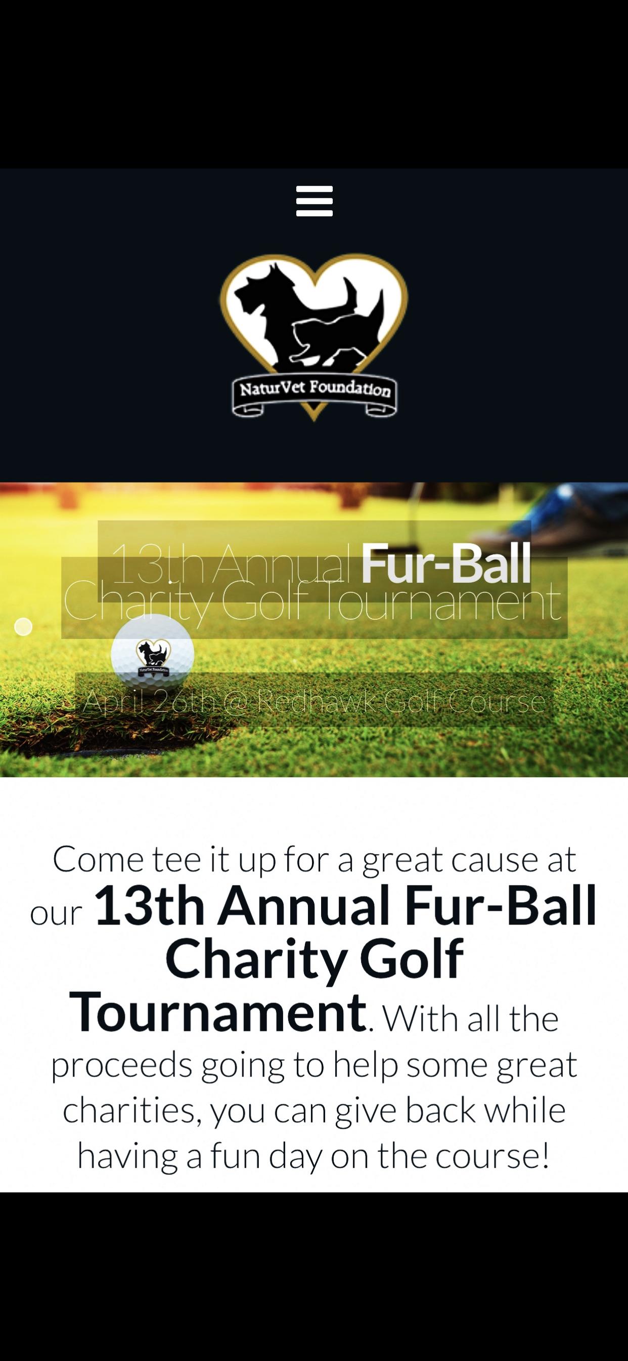 13th Annual Fur-Ball Charity Golf Tournament